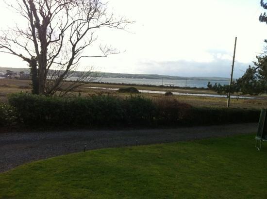 Balyett Bed and Breakfast:                   view from front door