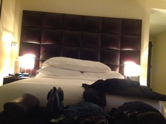 The Dominick Hotel: luxurious bed...