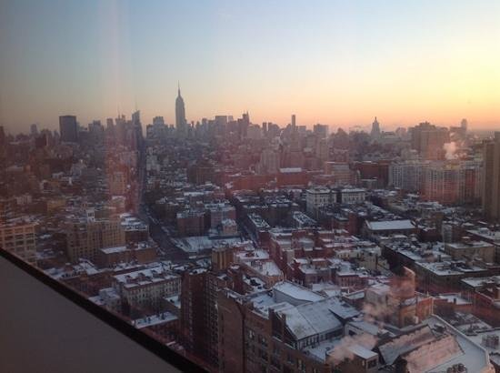 The Dominick Hotel: dawn over manhattan