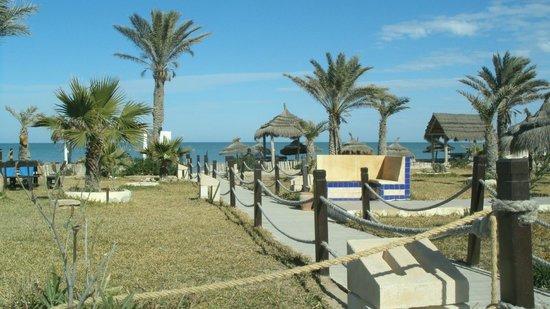 Hotel Dar El Bhar:                   vue de la terrasse