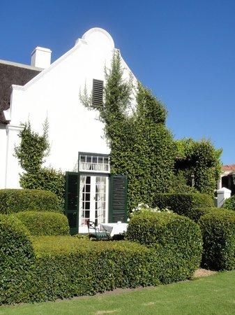 Van der Stel Manor:                   Sitzplatz / Zimmer