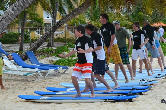 Barry S Surf Barbados School Dry Land