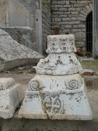 Αρχαία Πόλη Εφέσου:                                     pedestal base