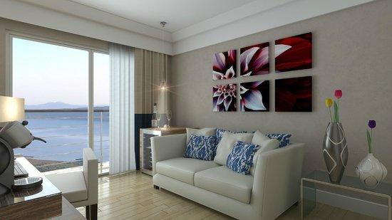 Relais Sans Soucis & Spa: Living suite Lago di Vico