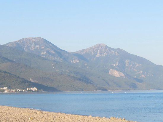 Natur-Med Thermal Springs and Health Resort:                                                       View from the beach