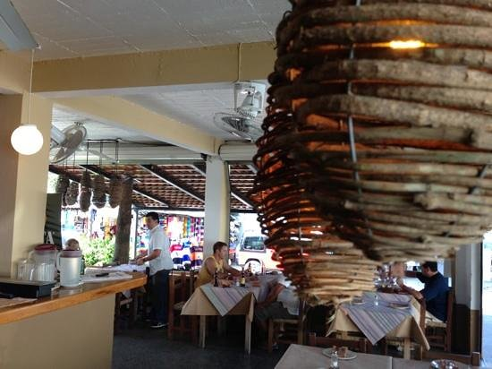 Fajita Republic: Basket Lights define the ambiance