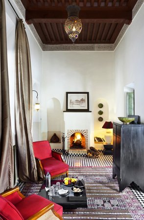 Riad Farnatchi: Suite 3 Sitting room