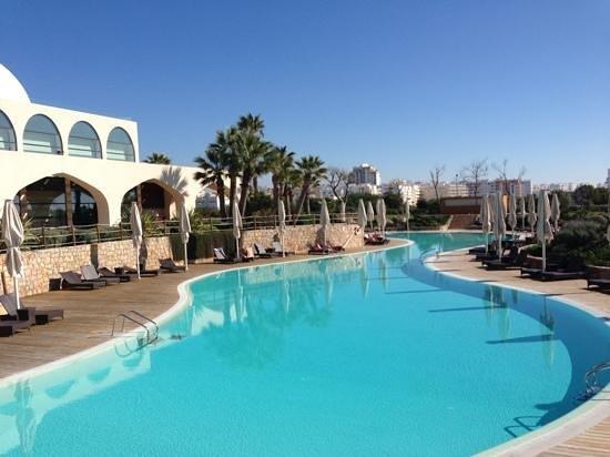 Crowne Plaza Vilamoura - Algarve:                   Außenpoolbereich