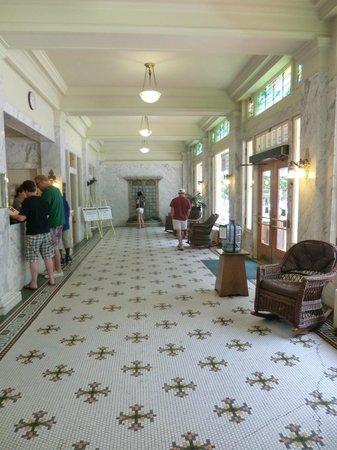 Fordyce Bathhouse (Vistor Center): front hallway