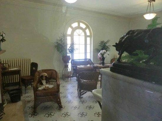 Fordyce Bathhouse (Vistor Center): upstairs room