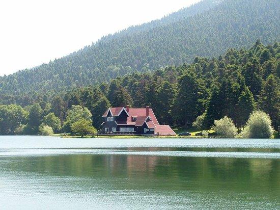 Bolu Termal Otel: Golcuk artificial lake