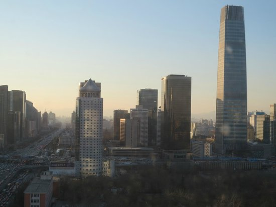 Sofitel Wanda Beijing: From my room window