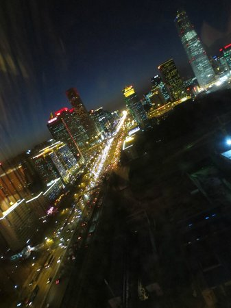 Wanda Vista Beijing: From my room at night