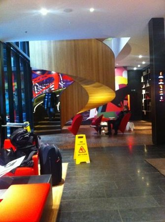 citizenM London Bankside:                   entrance