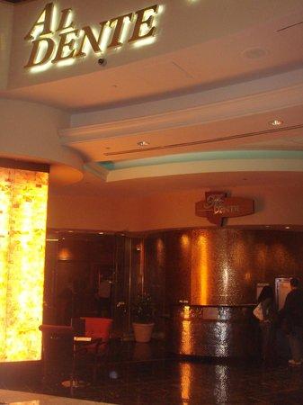 AL Dente Restaurant:                   Restaurant Entrance