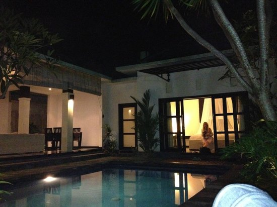 Grand La Villais Villa and Spa Seminyak:                   the room from outside