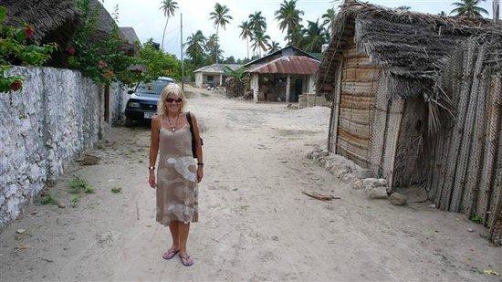Mamamapambo Boutique Hotel:                   Street view