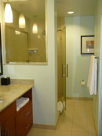 HYATT house Denver Airport:                   Ground floor suite