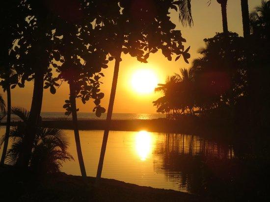 Morgan's Cove Resort & Casino:                   Coucher du soleil