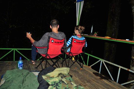 Дрейк-Бэй, Коста-Рика:                                     Enjoying the Nightlife