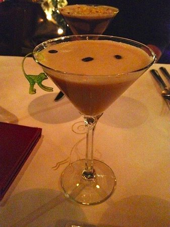 Green Monkey :                   Espresso Hazelnut Martini
