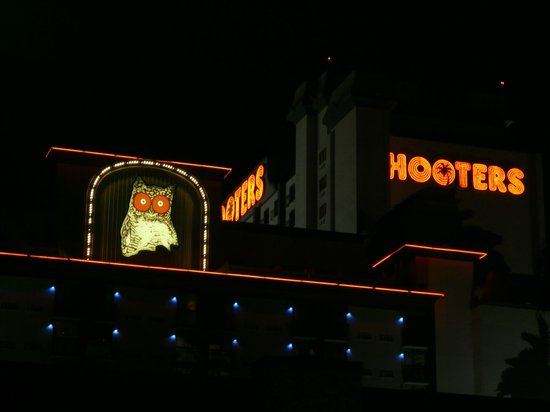 Hooters Casino Hotel:                   Outside view from street