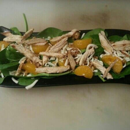 Beach Hippie Grill:                   Mandarin Chicken Salad
