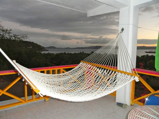 Perfect Pineapple Guest Houses :                                     View from Cottage #1 balcony