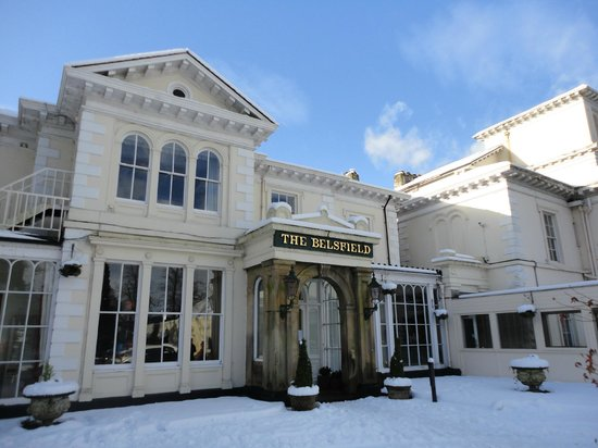 Laura Ashley Hotel The Belsfield:                   A snowy January morning