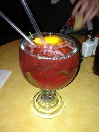 El Jacalito Grill :                   Strawberry Mojito