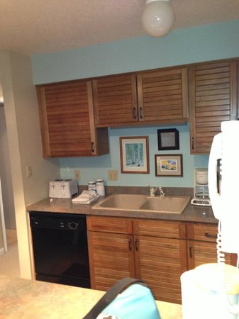 Timber Run Condominiums:                   Galley Kitchen