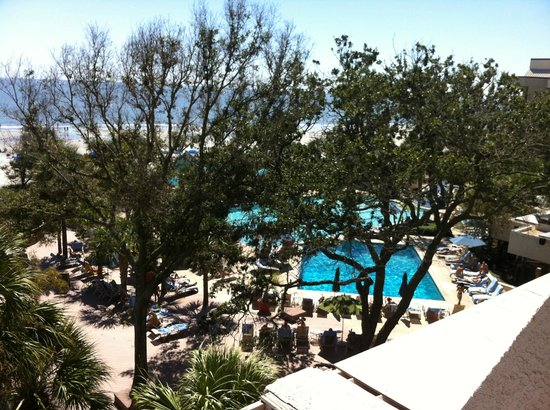 Hilton Head Marriott Resort & Spa:                   Room with a view