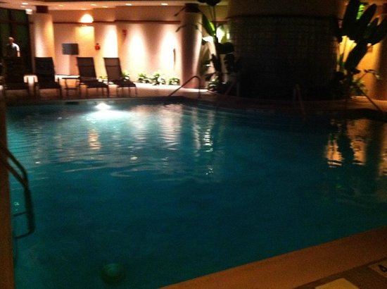 Hilton Head Marriott Resort & Spa:                   Pool at night