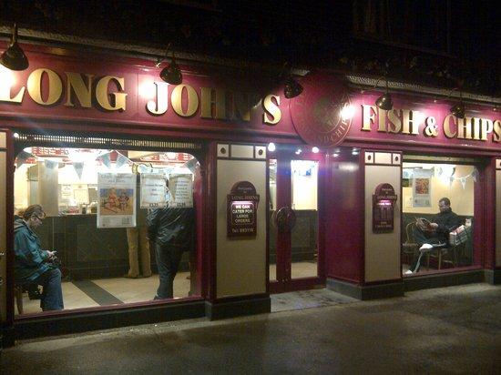 Long John's Fish & Chips:                   Exterior
