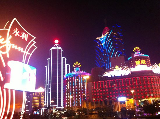 Wynn Macau : The exterior view of Wynn