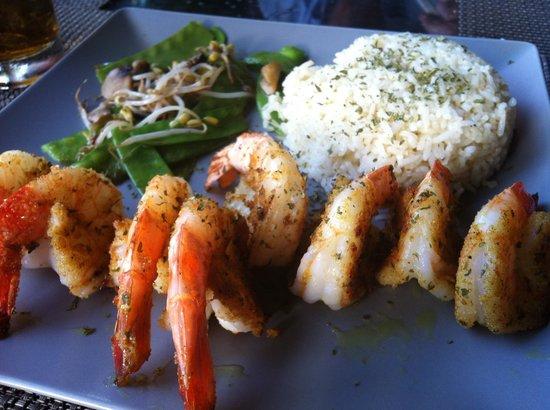 Hopi Bon Grill:                   Tappen jumbo shrimp, yum :)