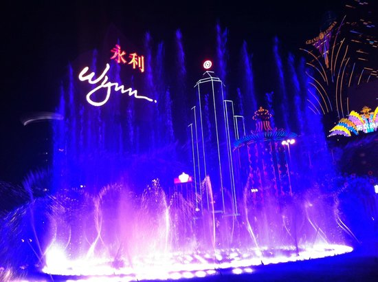 Wynn Macau: The Musical Fountain-9