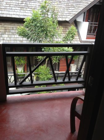 Kirikayan Boutique Resort :                   vue du petit balcon