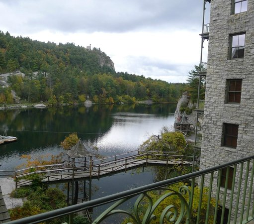 Mohonk Mountain House:                   Balcony View