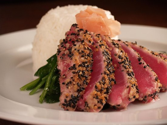 Porters - Dining at the Depot: Seared Ahi Tuna