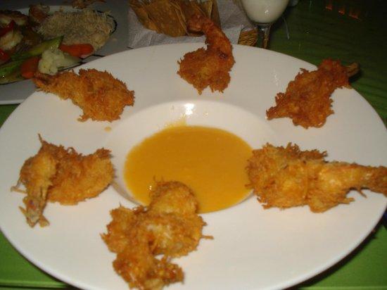 Kool Fish Restaurant:                   Coconut Shrimp