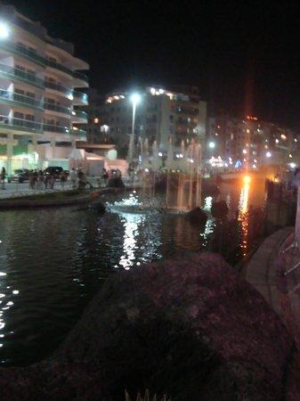 Forte Beach:                   Noite na Orla da Praia
