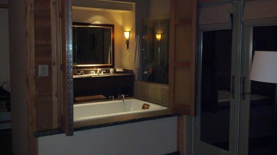 Ventana Inn & Spa:                   Bathroom Big Sur Spa Suite Rm 54