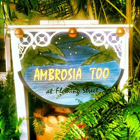Ambrosia Key West Tropical Lodging:                   .