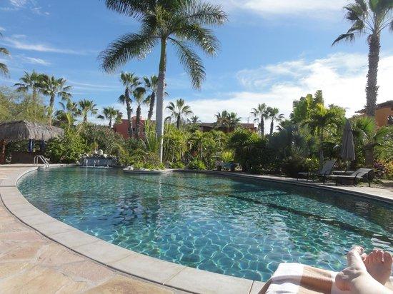 Posada La Poza:                   pool