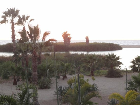 Posada La Poza:                   view from the terrace