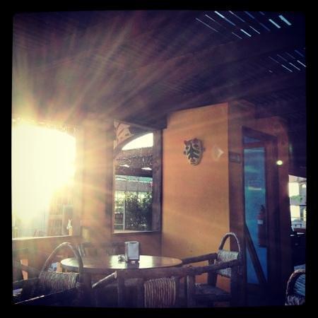 Restaurant Margarita: good spot to watch sunset if nothing else.