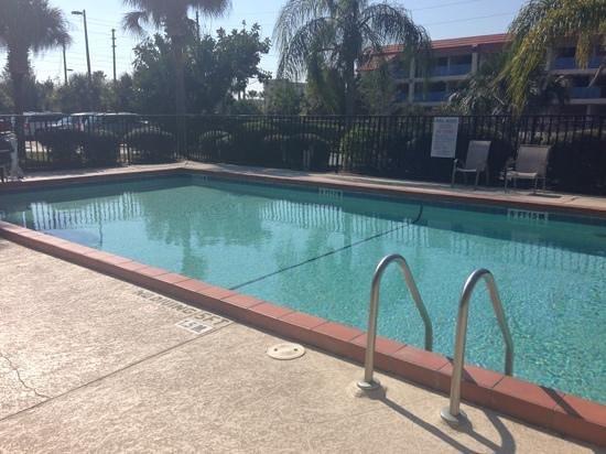 Quality Inn Orlando Airport : Clean pool