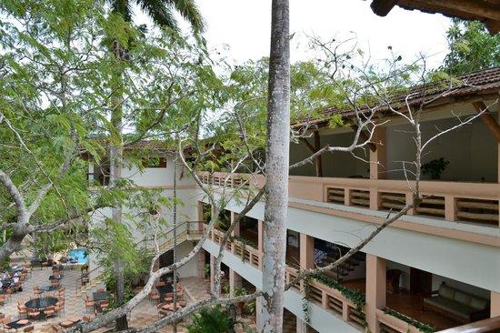 Hotel & Bungalows Mayaland:                   Autre vue du balcon