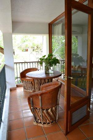 Hotel & Bungalows Mayaland:                   Le balcon